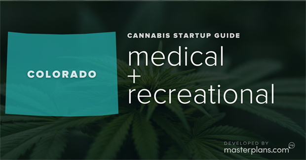 Colorado medical and recreational cannabis business startup guide and planning banner