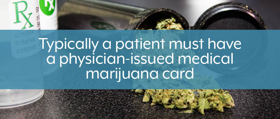 most medicinal cannabis states require physician-issued medical marijuana card